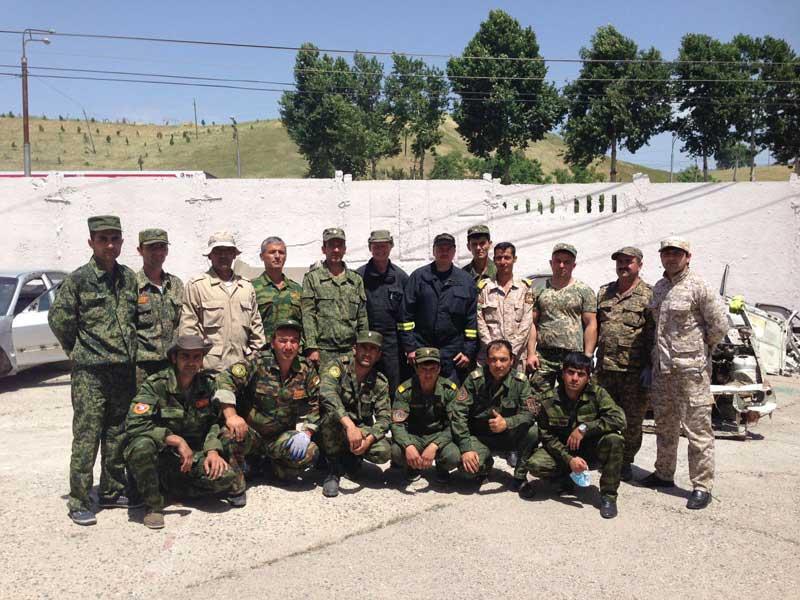 IRRTC Tajikistan's first ever RTC Instructors