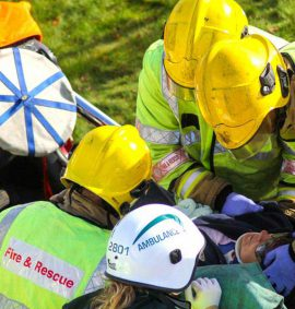 IRRTC Vehicle extrication casualty care