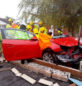 IRRTC Vehicle extrication