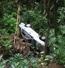 remote working car crash - IRRTC rescue