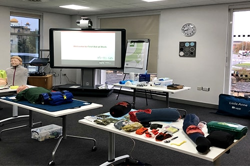 IRRTC First Aid at work FAW course