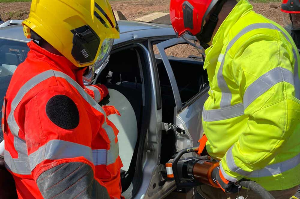 IRRTC 5-day RTCi course extrication techniques