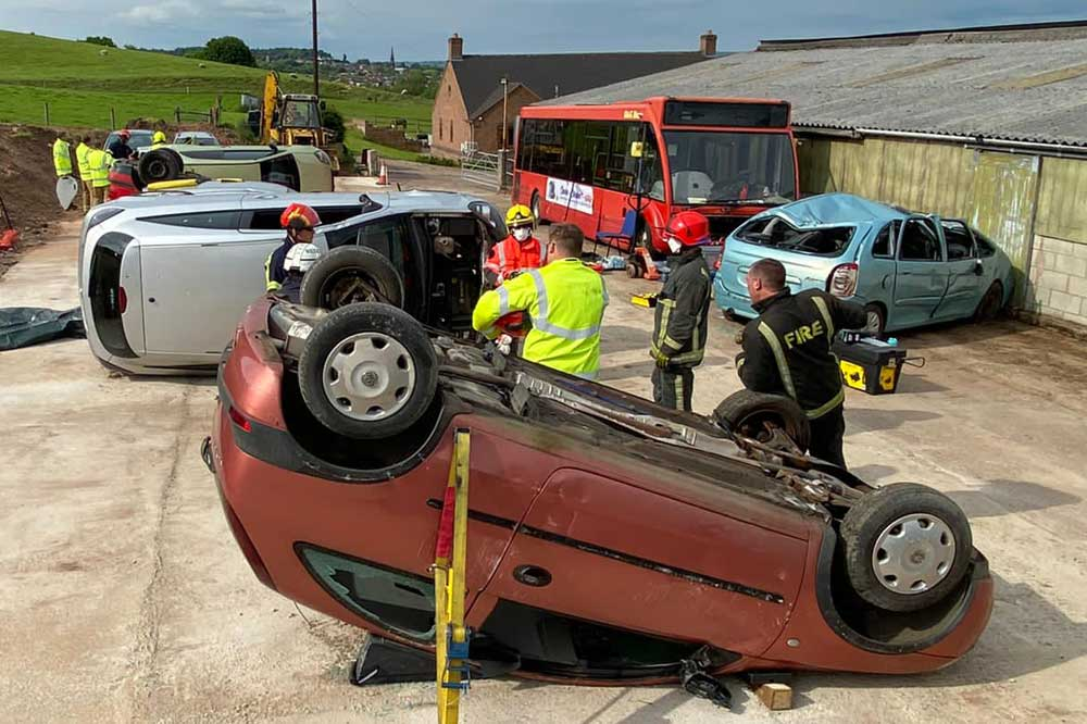 IRRTC 5-day RTCi course extrication techniques stabfast