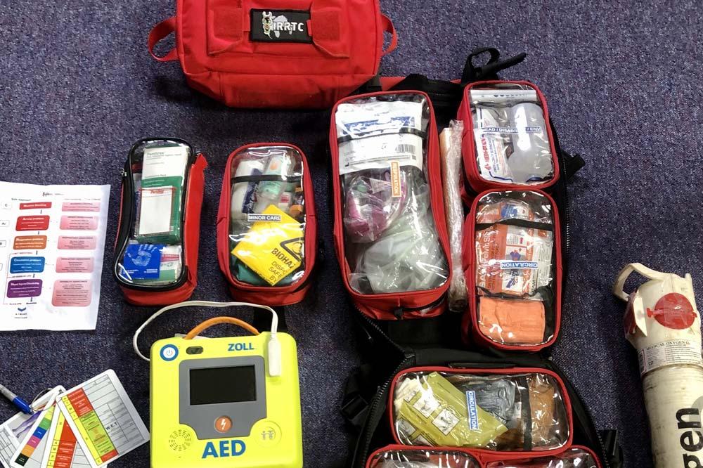 IRRTC RTACC Course trauma kit