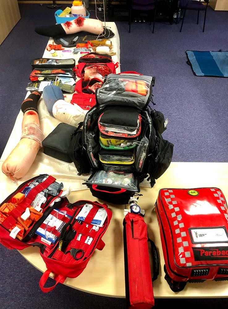IRRTC RTACC Course - trauma care kit bag